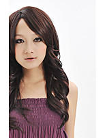 Good Quality Natural Wigs For Women Female Wig Black Long Wavy Synthetic Fiber Wig