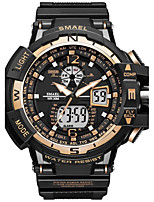 Homens Relógio Esportivo Relógio de Moda Relogio digital Japanês Quartzo DigitalCronógrafo Impermeável Cronômetro Noctilucente Resistente