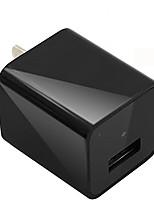 mini cámara 1080p hd activado usb adaptador de enchufe de pared adaptador de cámara de seguridad nanny cámara para 32gb
