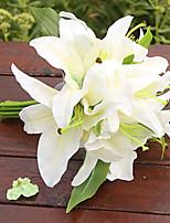 1 Филиал Пластик Лилии Букеты на стол Искусственные Цветы