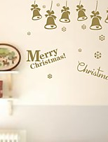 Navidad Romance Día Festivo Pegatinas de pared Calcomanías de Aviones para Pared Calcomanías Decorativas de Pared,Papel Material