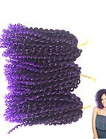 10-12inch short Jerry Curl Curly Braids Hair Extensions 100% Kanekalon Hair Hair Braids
