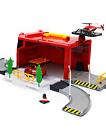 City Fire Center Police Center Rapid Biao Car Early Education Toy Simulation Model MX7201-0126