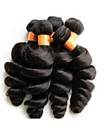 wholesale loose wave 1kg 10pcs lot 10a brazilian virgin hair bundles natural black color unprocessed human hair material made soft and smooth