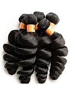 Оптовая свободная волна 1 кг 10шт много 10а бразильских виргинских пучков волос натуральный черный цвет необработанный материал