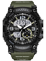 SMAEL® Men's Sport Watch Military Fashion Watch Digital Japanese Quartz Calendar Chronograph Water Resistant / Water Proof Stop watch outdoor watch