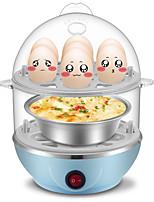 Egg Cooker Double Eggboilers 2 en 1 Multifonction Créatif Style mini Détachable 220V