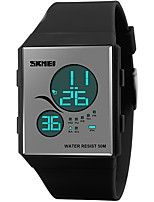 SKMEI® 1169  fashion sport women digital watches LED display PU starp 50m waterproof casual brand ladies blue black watches reloj mujer