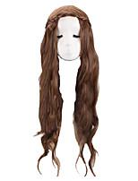 Costumes de Cosplay Costume de Soirée Princesse Reine Déesse Cosplay de Film Perruque Halloween Carnaval Féminin Adulte Elasthanne