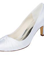 Da donna scarpe da sposa Decolleté Raso elasticizzato Primavera Autunno Matrimonio Serata e festa Fiocco A stilettoBlu Rosa Viola scuro
