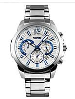 SKMEI Homens Relógio Esportivo Relógio de Moda Relógio de Pulso Chinês Quartzo Calendário Cronógrafo Impermeável Cronômetro Mostrador
