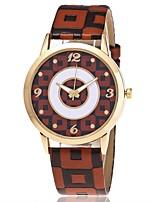 Жен. Модные часы Наручные часы Уникальный творческий часы Повседневные часы Китайский Кварцевый Имитация Алмазный PU Группа Повседневная