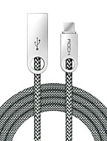 ROCK USB 2.0 Cable, USB 2.0 to USB 2.0 Tipo C Cable Macho - Hembra 1,0 m (3 pies)