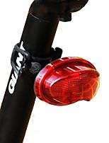 Велосипедные фары задние фонари LED Велоспорт Анти-Ветер Anti-Dust USB Люмен USB Оранжевый На открытом воздухе