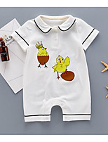 Baby Animal One-Pieces,Cotton Summer Short Sleeve