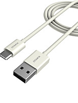 USB 2.0 Câble, USB 2.0 to USB 2.0 Type C Câble Male - Male 1.0m (3ft)