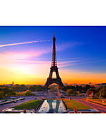 Jigsaw Puzzles Jigsaw Puzzle Building Blocks DIY Toys Tower Famous buildings Wooden