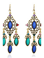 Women's Earrings Set Basic Vintage Rhinestone Alloy Jewelry For Gift Evening Party Stage Club Street