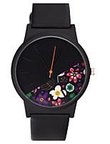 Муж. Модные часы Кварцевый PU Группа Повседневная Черный Коричневый Зеленый Серый Фиолетовый Хаки