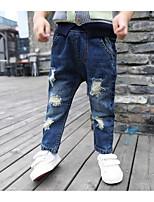 Pantaloni Da ragazzo Tinta unita Primavera Autunno