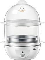 Egg Cooker Double Eggboilers Multifonction Créatif Léger et pratique Style mini Légère Détachable 2 en 1 220V