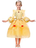 Girl's Luxurious Long Sleeve Gauze Princess Skirt