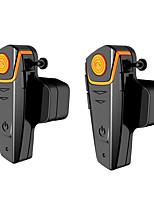 Motocicleta V4.2 Auricular y Micrófono Bluetooth Manos libres del coche control de sonido Reproductor MP3