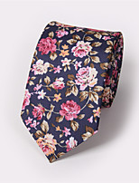 Men's Fashion Banquet Floral Printing Tie