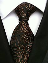 Men's Polyster Neck TieNeckwear Print All Seasons W0076