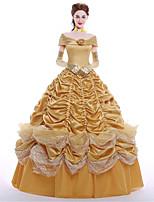 Disfraces de Cosplay Ropa de Fiesta Baile de Máscaras Princesas Reina Cosplay de películas  Vestido Guantes Enagua Pelucas Halloween