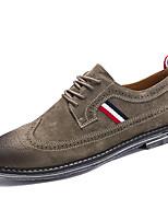 Для мужчин Туфли на шнуровке Для прогулок Удобная обувь Флис Осень Зима Свадьба Повседневные Для вечеринки / ужина ШнуровкаНа плоской