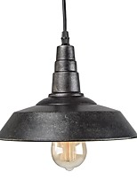 Vintage Industrial Pendant Light Country Style Mini Chandelier for Bars With 1 Light Painted Finish