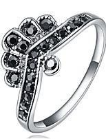 Settings Ring Luxury Euramerican Fashion Elegant Noble Crown Birthday Wedding Movie Gift Jewelry