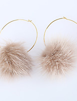 Women's Earrings Set Basic Fashion Adorable Feather Alloy Jewelry For Party Birthday Gift Evening Party Club