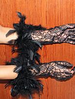 マスカレードは高品質の女性の手袋レースグローブuv日焼け止め細い手袋の夏のセクション白/黒