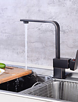 Ceramic Valve Oil-rubbed Bronze , Kitchen faucet