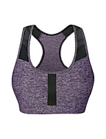 Yoga Sports Bra Fast Dry Stretchy Breathability Stretchy Sports Wear Yoga Running/Jogging Pilates Running Indoor Women's