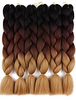 15 Colours Kanekalon Braiding Hair Expressions 24'' 100g Synthetic Jumbo Braids Crochet Hair