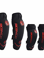 Scoyco K18 Motorcycle Knee Care Elbow Four Sets Of Riding Leggings Drop Protection Guard Summer Men And Women Knight Equipment