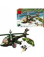 Building Blocks For Gift  Building Blocks Helicopter Plastics All Ages 14 Years & Up Toys PCS275