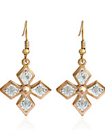 Women's Earrings Set Basic Geometric Personalized Rhinestone Alloy Jewelry For Gift Daily Evening Party Club Street