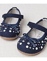 Girls' Flats Comfort Summer Leatherette Casual Navy Blue Flat