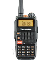 Quansheng tg-k4at (uv) dual band due vie radio5w 128ch fm portatile bidirezionale cb prosciutto radio quansheng walkie talkie