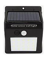 Home Solar Energy Sensor Lamp 20 Led Outdoor Waterproof Wall Lamp