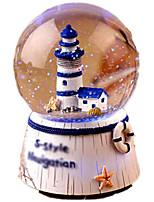 Balls Music Box Toys Round Ship Female 1 Pieces