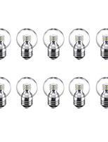 3W Lâmpada Redonda LED G45 24 SMD 2835 250 lm Branco Quente Branco Frio 220 V 10 pçs E27