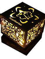 Music Box Square Wooden