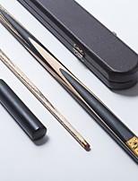 JIANYING  Snooker Cue Professional 1Piece cue Black Ebony Butt Ash shaft Handmade Billiard Cue Case