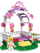 Building Blocks For Gift  Building Blocks Dome Plastics ABS 6 Years Old and Above Toys