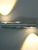 6 LED Integrado Simple LED Moderno/Contemporáneo Cepillado Característica for LED Mini Estilo Bombilla Incluida,Luz Ambiente Luz de pared